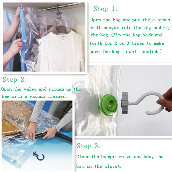 Hanging Vacuum Storage Bag For Clothes Regular Size  sc 1 st  small packing & Products-SMALL PACKING